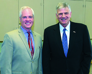 Judge Vance Day with Franklin Graham