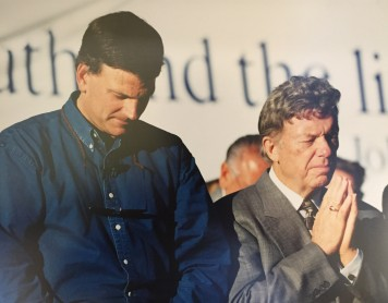Franklin Graham and John Wesley White