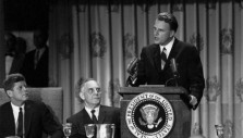 Billy Graham at the 1963 National Prayer Breakfast