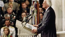 Billy Graham's 9/11 Message from the Washington National Cathedral