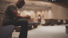 I know I'm supposed to worship God when I go to church, but I can't say I always do. My thoughts wander, or I get to thinking about the people around me and I come away disappointed in myself for not really worshipping. How can I keep from being distracted?