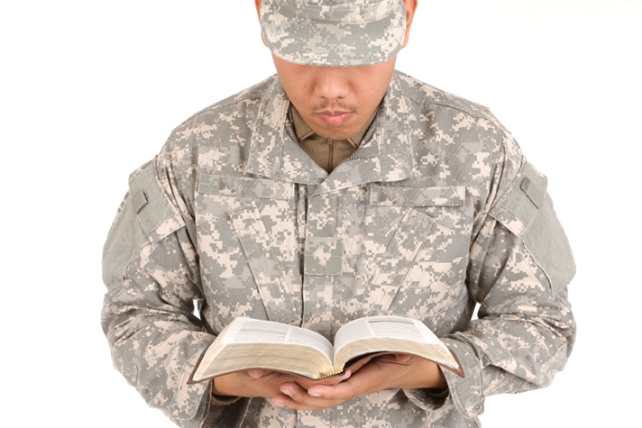 god and military