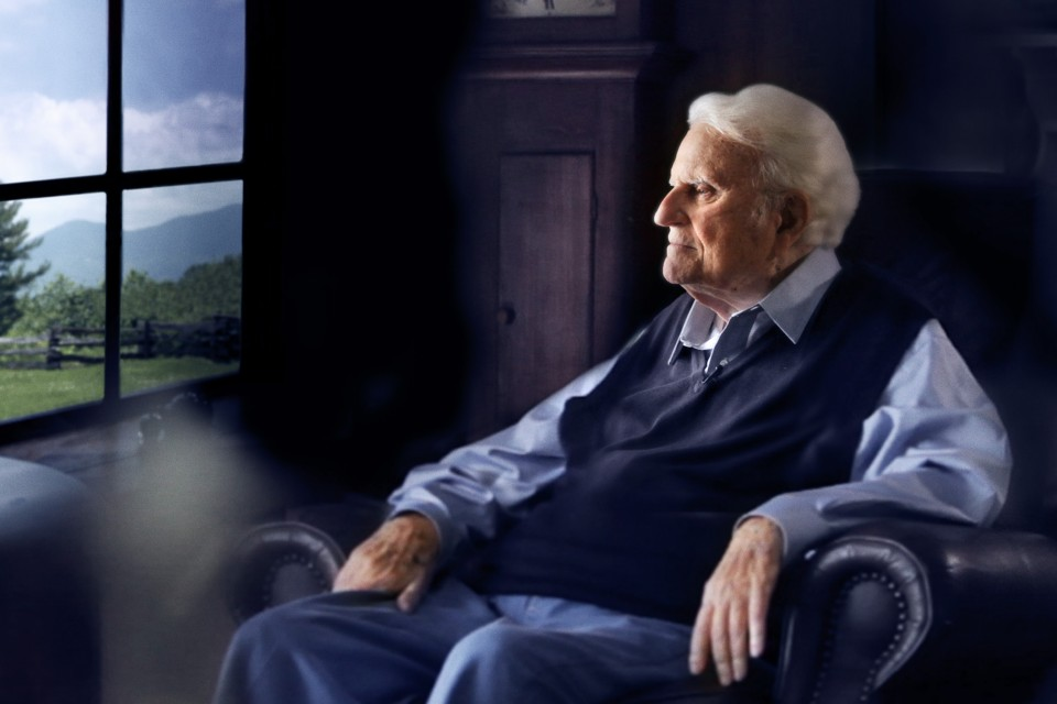 Billy Graham—born Nov. 7, 1918—celebrates birthday No. 97 today.
