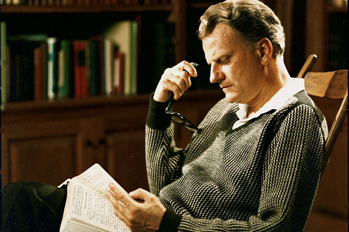 Billy Graham Reading Bible