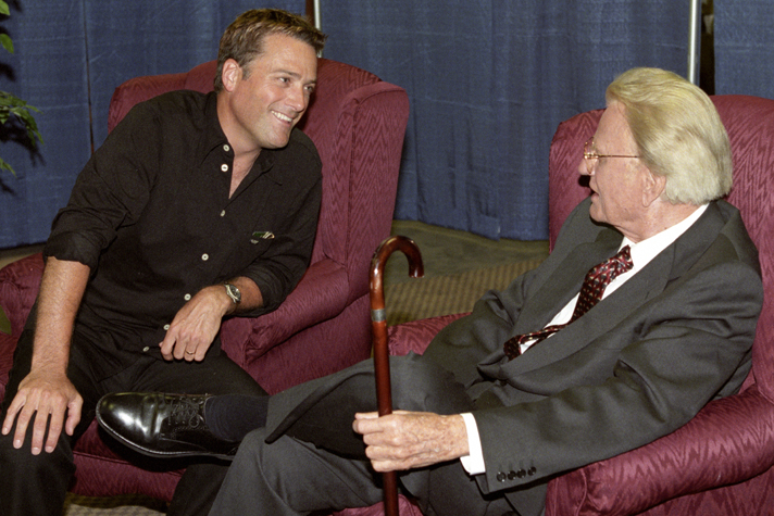Michael W. Smith and Billy Graham
