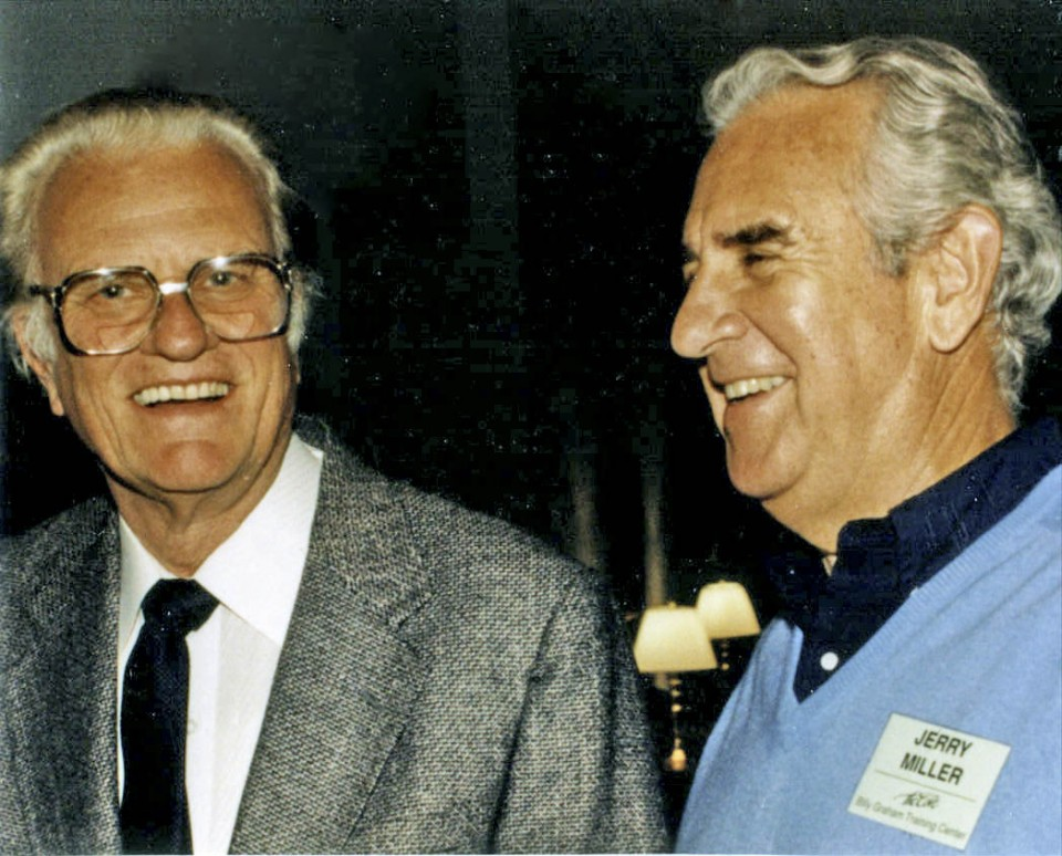 Billy Graham and Jerry Miller