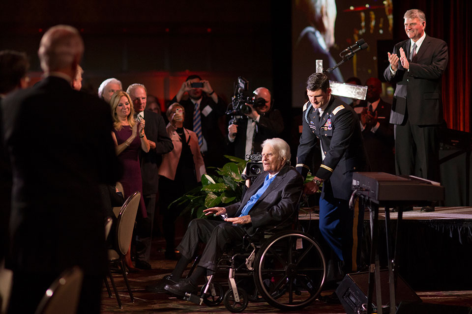 Honoring Billy Graham