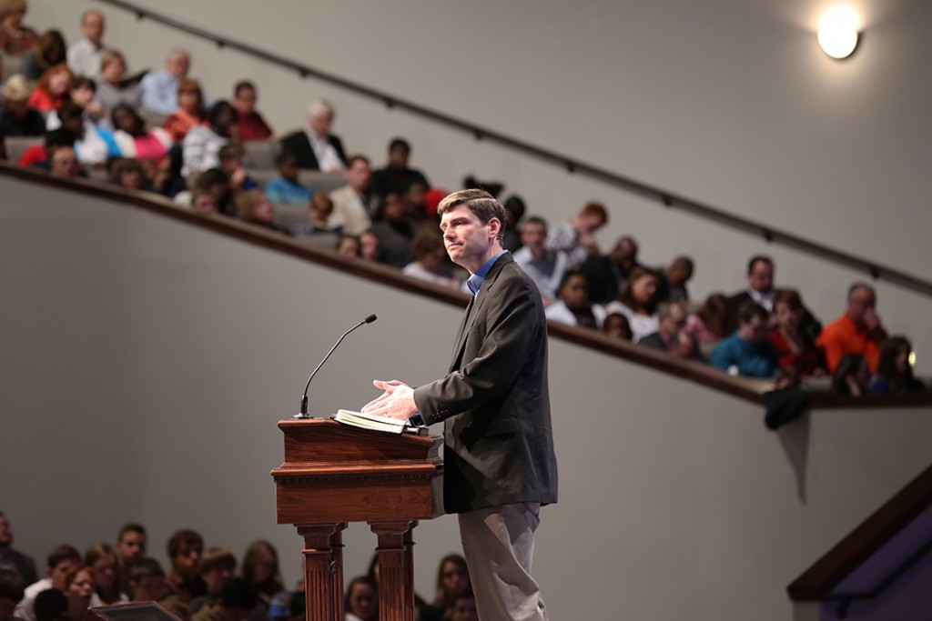 Will Graham at Sherwood Baptist Church