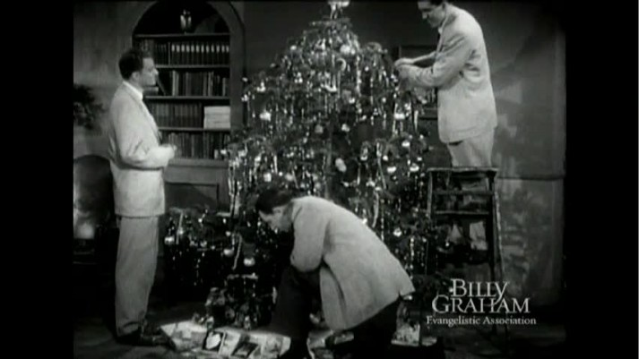 The Hour of Decision Christmas TV program 1952