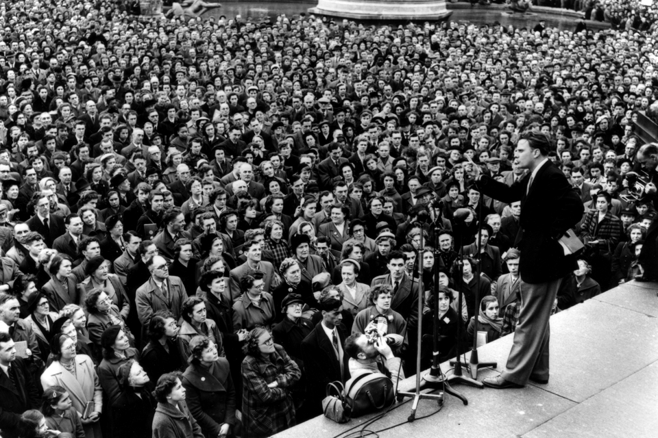 Billy Graham in London