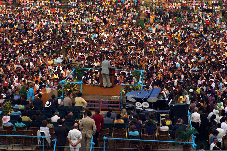 South Africa Crusade in 1973