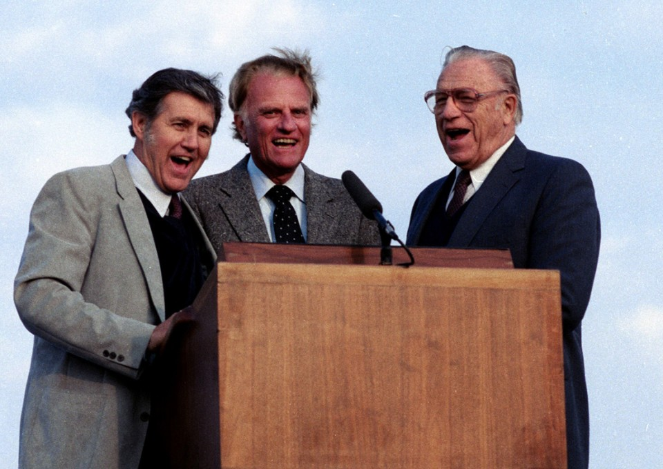 Cliff Barrows, Billy Graham, Bev Shea