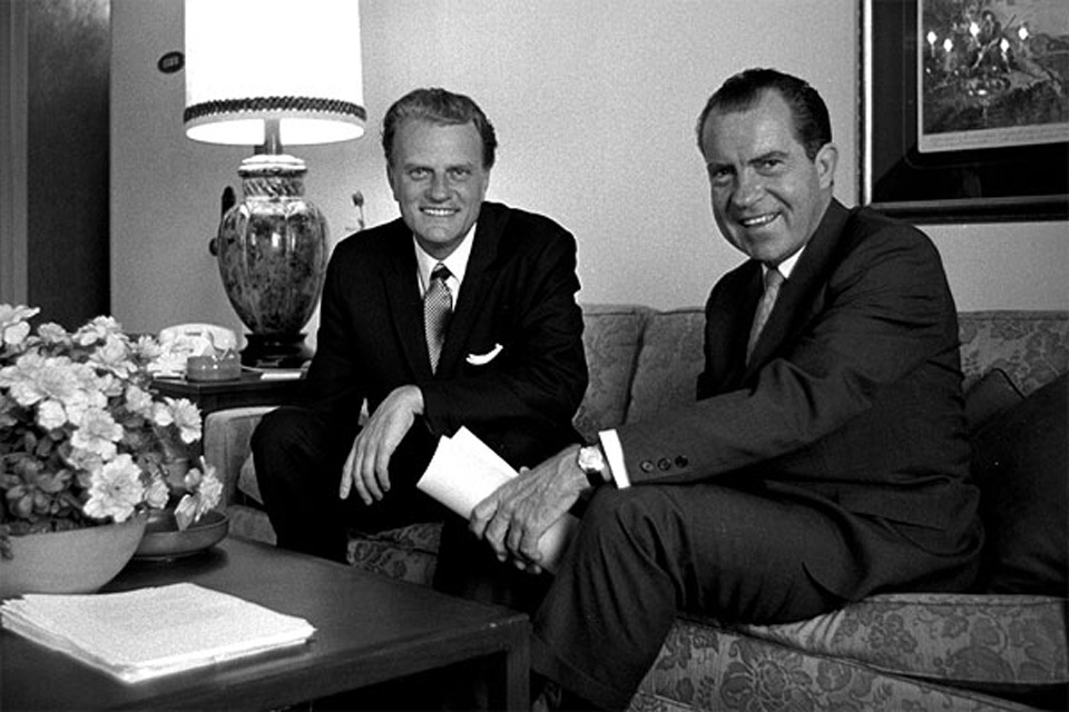 BG and Richard Nixon