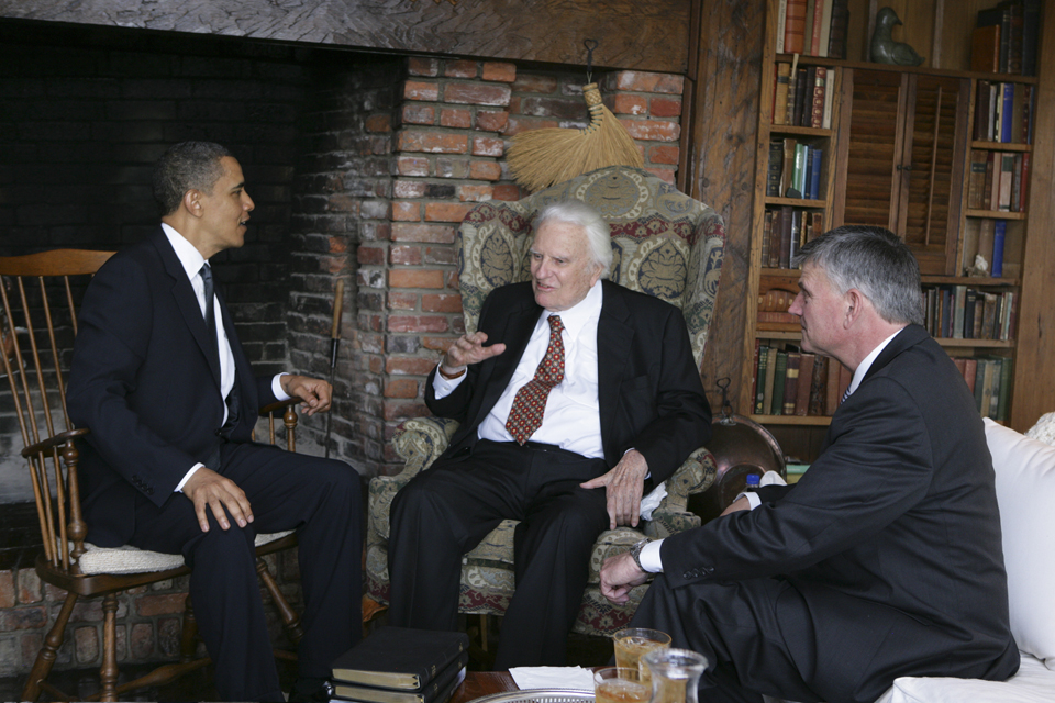 Billy, Franklin and Pres Obama