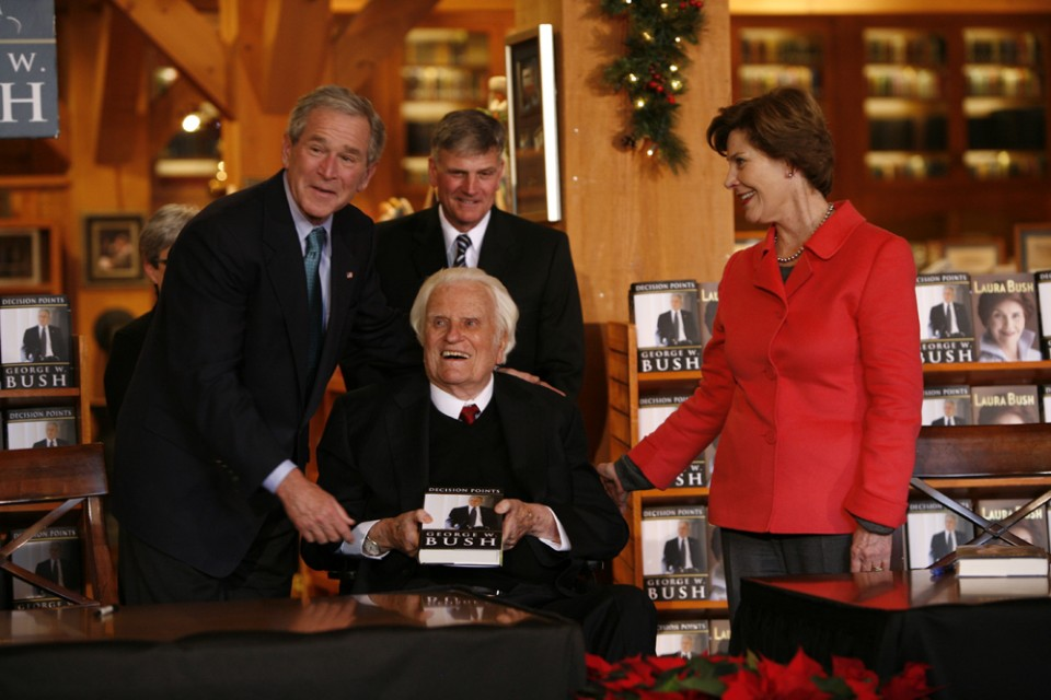 Bush booksigning
