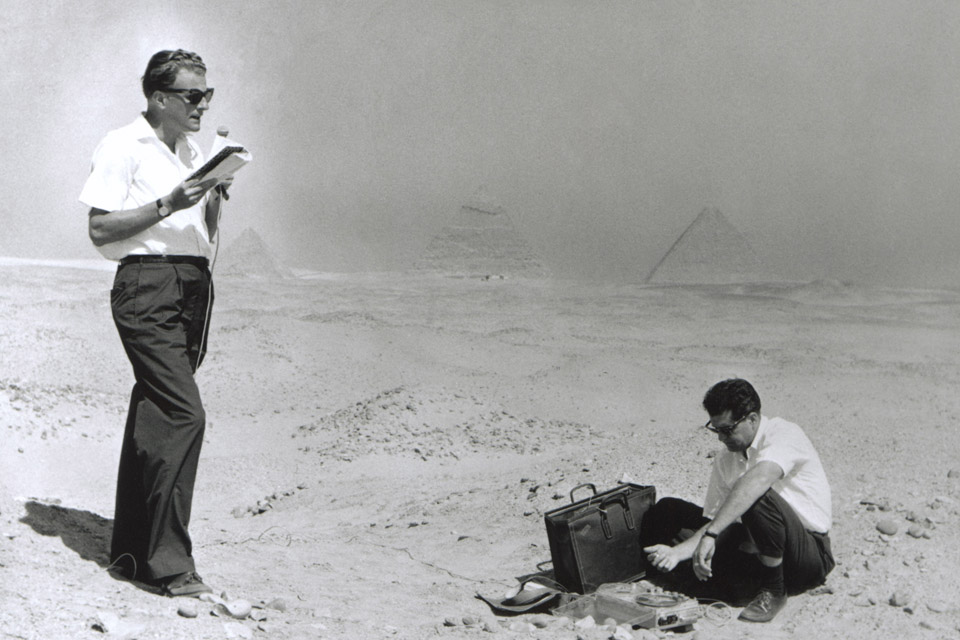 Billy Graham in Egypt
