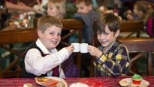 Hundreds of Little Ones Celebrate 'Teddy Bear Tea'