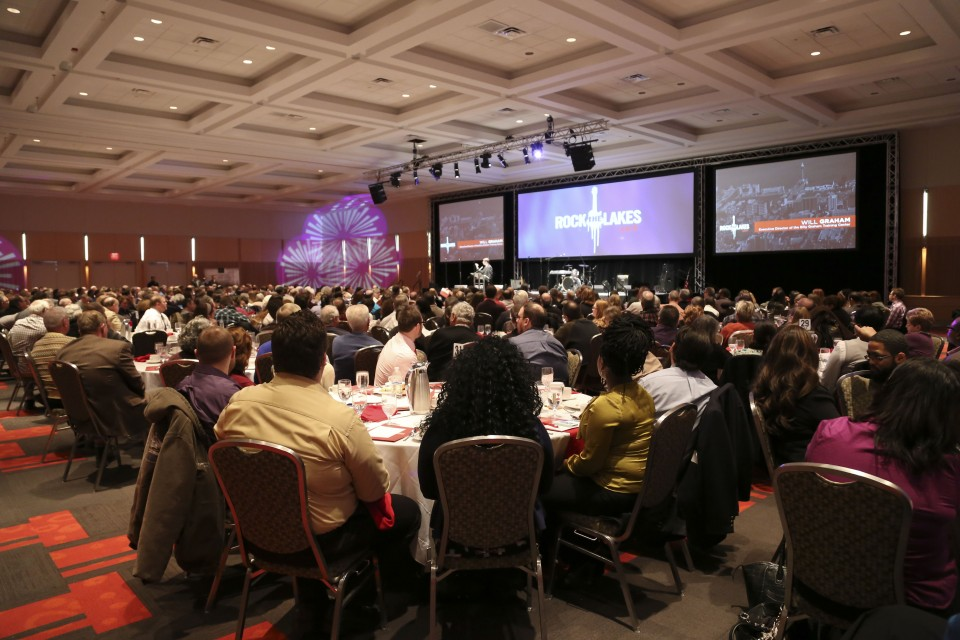 More than 400 people from the Erie region attended the Rock the Lakes kickoff event.