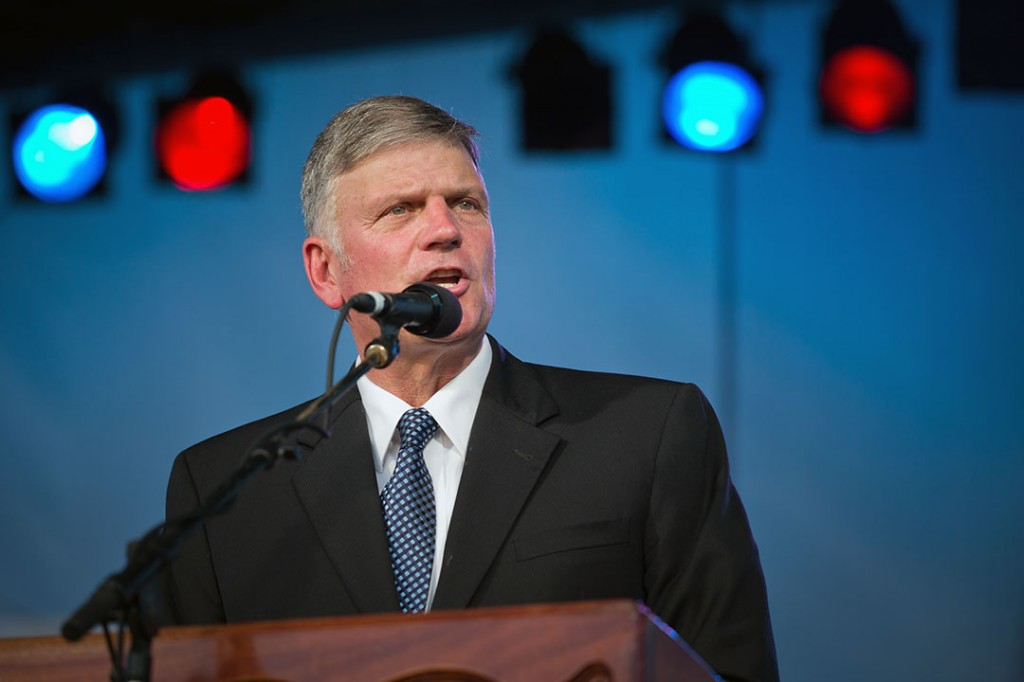 Franklin Graham in South Sudan