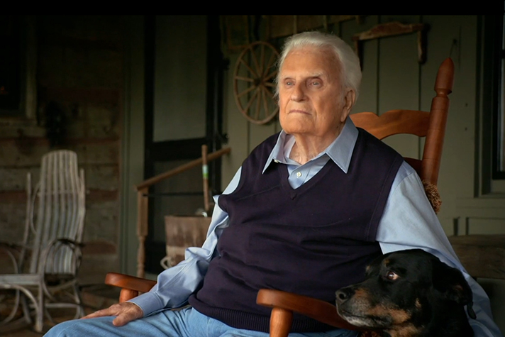 To this day, Billy Graham has a trusted companion by his side.