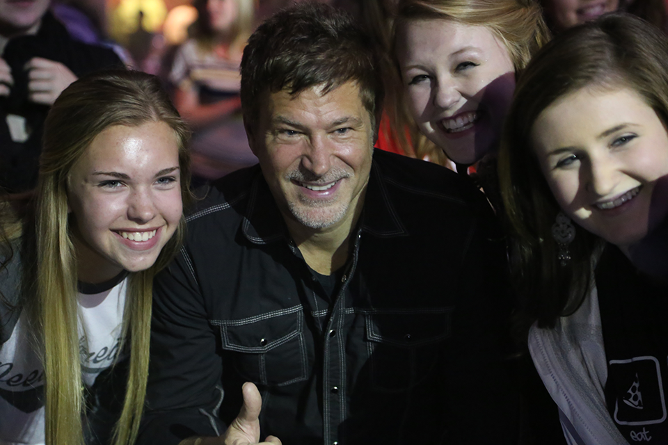 Paul and fans