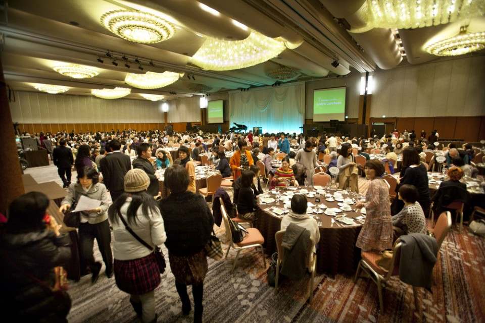 Some 1,400 people attended a ladies luncheon and banquet held Friday to build excitement about the Celebration of Hope.