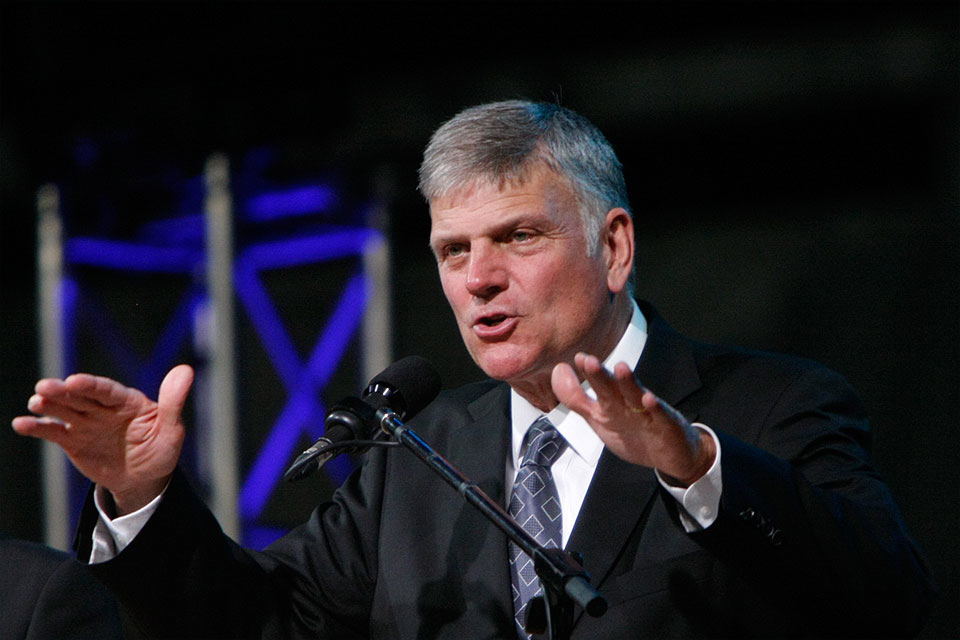 Franklin Graham deixa o Partido Republicano