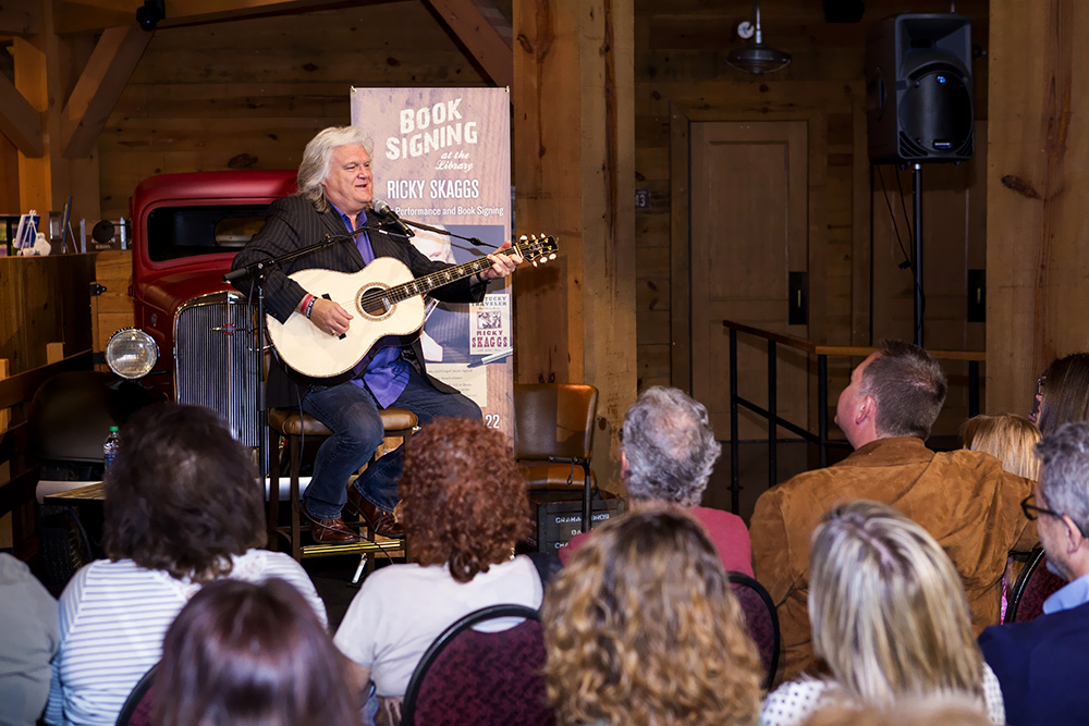 Ricky Skaggs Library March 2014