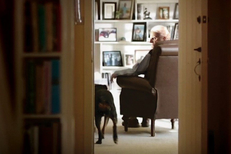 Billy Graham at home