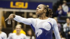 Rising Gymnast Focuses Upward Before Weekend Championships