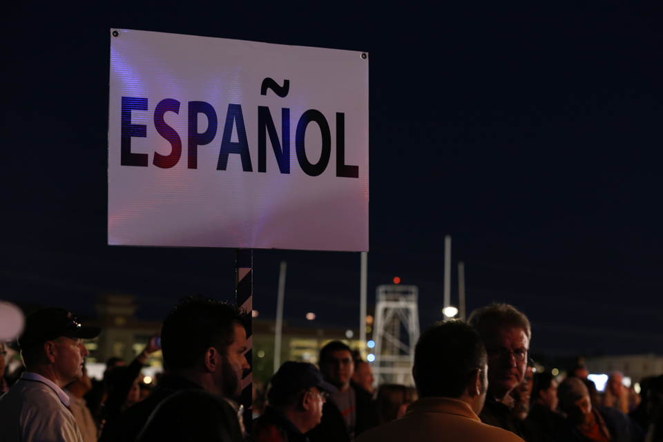 Espanol sign
