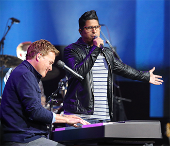 Michael W. Smith and Daniel Calveti
