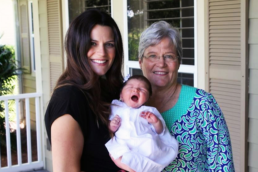 Cissie Graham Lynch with her mother, Jane, and daughter, Margaret. (Photo courtesy of Cissie Graham Lynch)