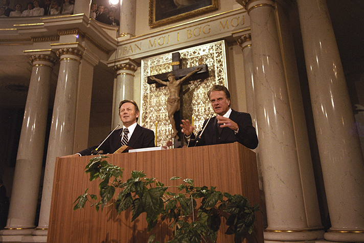 Billy Graham Warsaw 1978