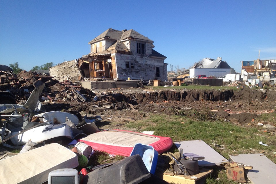 As much as 75 percent of Pilger was destroyed by two twisters that ripped through on June 9.