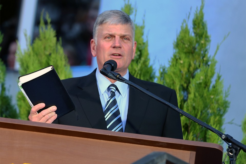 Franklin Graham talks about the Bible and how he believes it's true cover to cover.