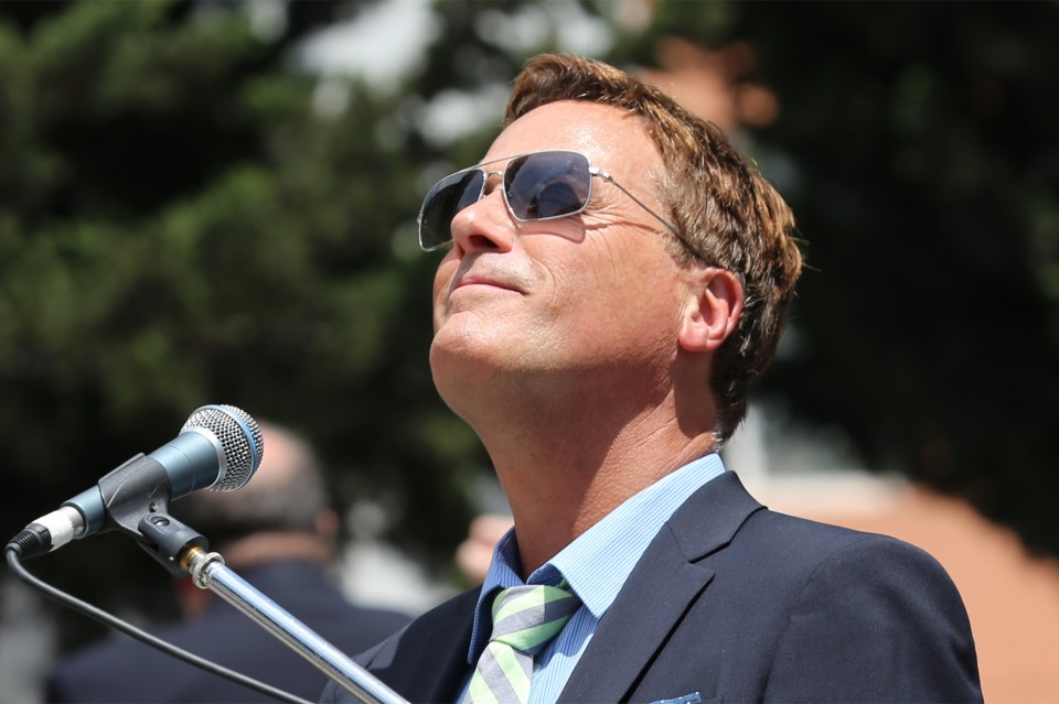 "A memorable day for Michael W. Smith: ""I've fallen in love with your country,"" he said. For full coverage: http://bit.ly/TbilisiFestival"