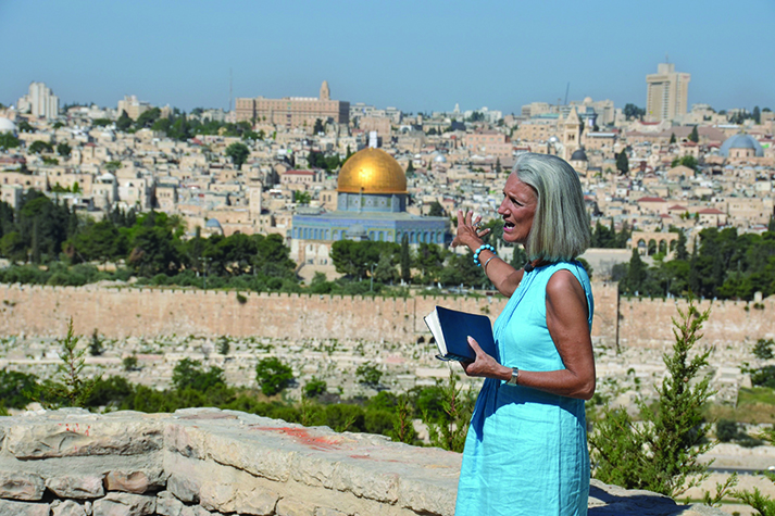 Near the Mount of Olives in the spring of 2013, Anne Graham Lotz teaches on the return of Christ.