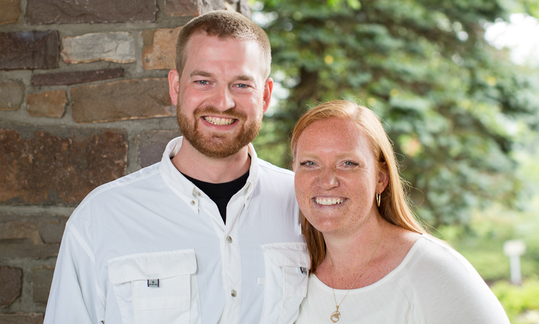 Dr. Brantly and his wife