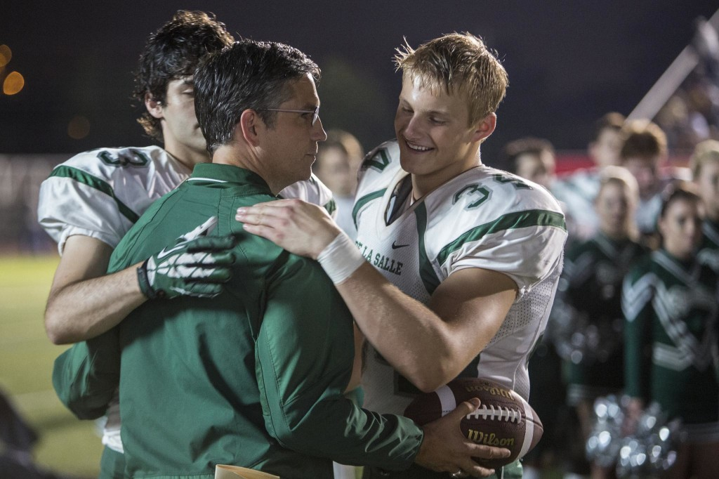 "Jim Caviezel stars as coach Bob Ladouceur in ""When the Game Stands Tall,"" opening August 22."