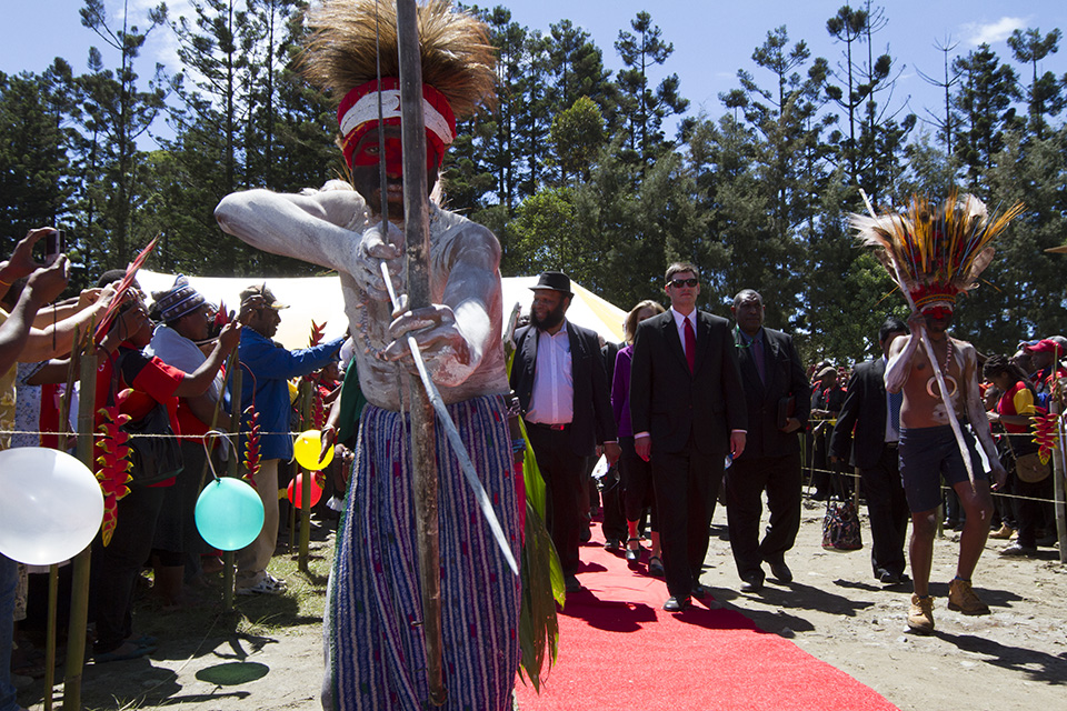 welcome in Papua New Guinea