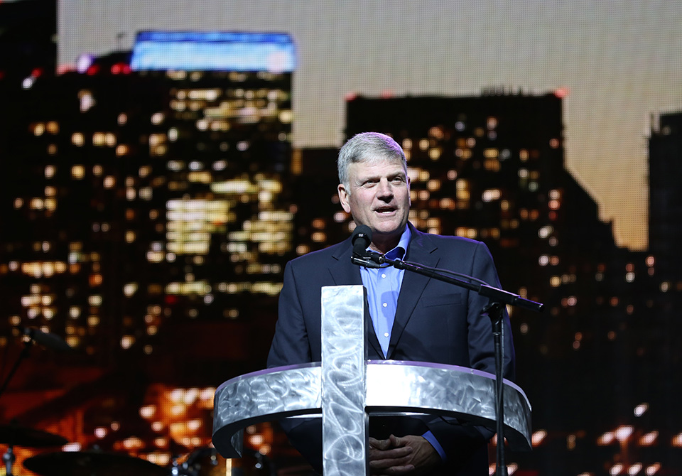 Franklin Graham in Toronto
