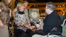 Photos: Joni Eareckson Tada Visits the Billy Graham Library