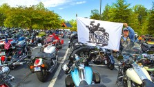 1,500 Bikers Come to Billy Graham Library