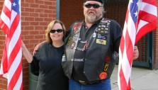 Tough Bikers with Tender Hearts Share Gifts and Gospel with Children