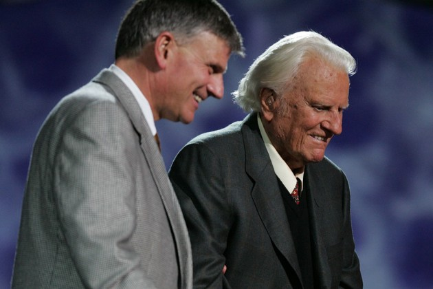Billy Graham: 'I Won't Let You Drown'