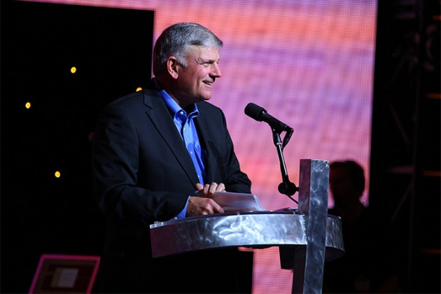 Franklin Graham: Overflowing with Gratitude