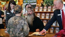 Phil and Kay Robertson's Christian Values Draw Hundreds to Library
