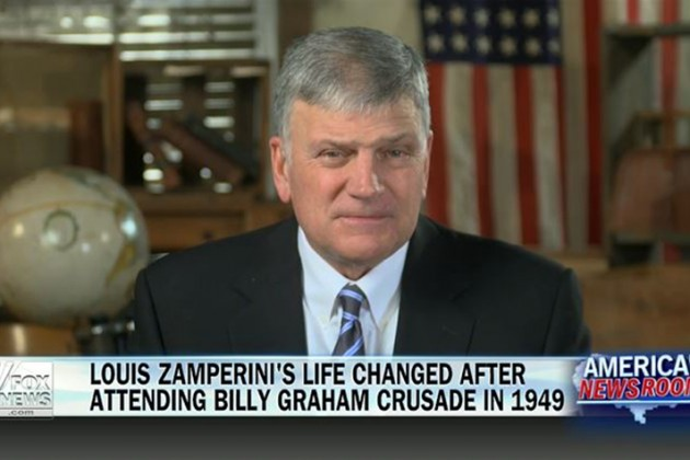 Franklin Graham on Fox News: 'Unbroken' Billy Graham Connection