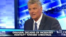 Franklin Graham on Fox News: War on Christmas is 'All Over the Country'